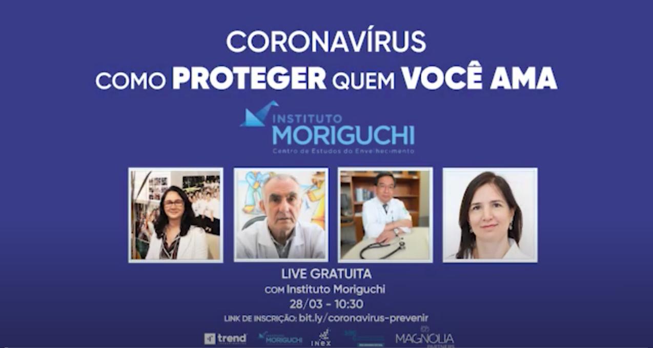 Coronavírus: Como Proteger Quem Você Ama